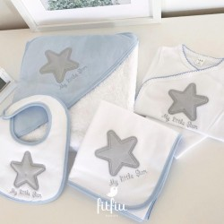"Conjunto ""My little star"" azul"