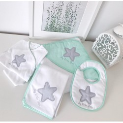"Conjunto ""My little star"" rosa"